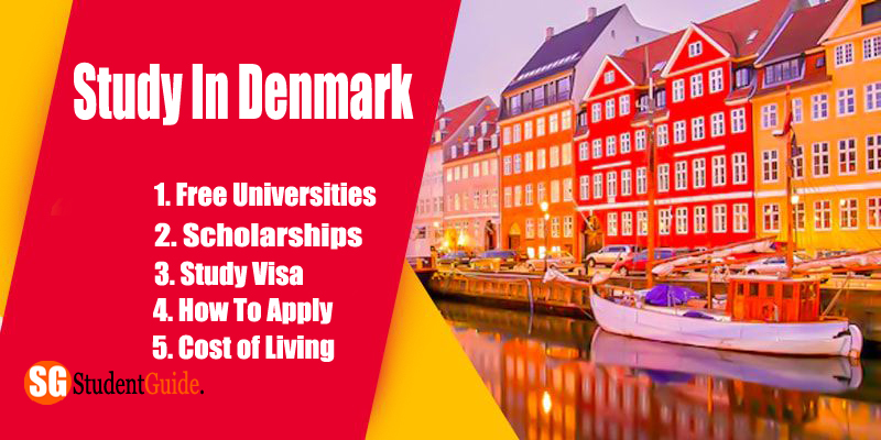 Study in Denmark: Free Universities, Scholarships, Study Visa, How To Apply