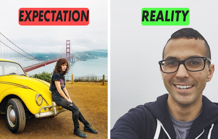 16 Epic Pictures About Travel Expectations Vs Reality