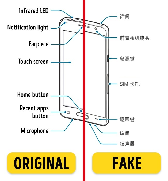 6 Tips to Help You Recognize Fake Gadgets