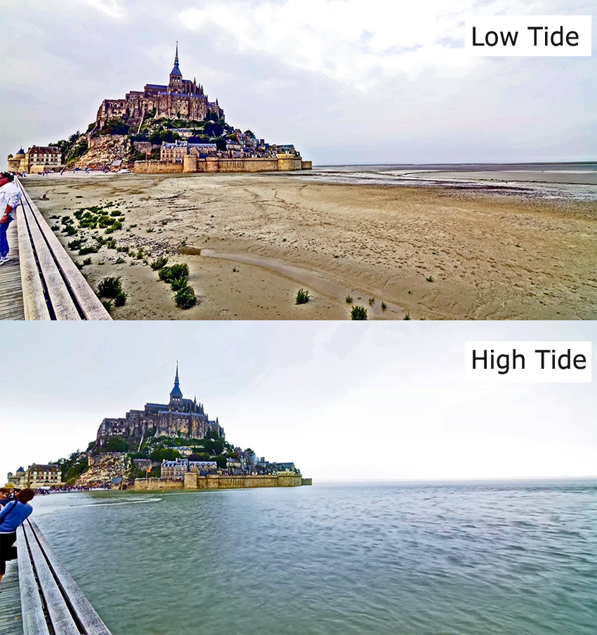 7 Incredible Places That Completely Disappear During High Tide