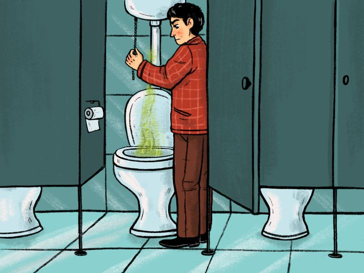 8 Reasons Why the Doors in Public Toilets Don't Reach the Floor