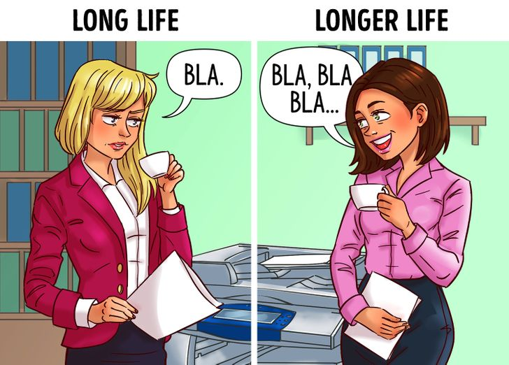 According to a Study Women Who Talk Too Much Live Way Longer