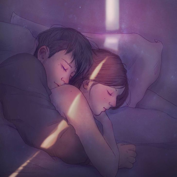 10 Incredibly Gentle Illustrations That Show What Love Is