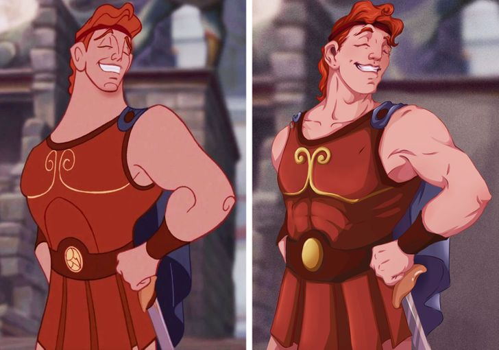 What 8 Cartoon Characters Would Look Like With Realistic Bodies