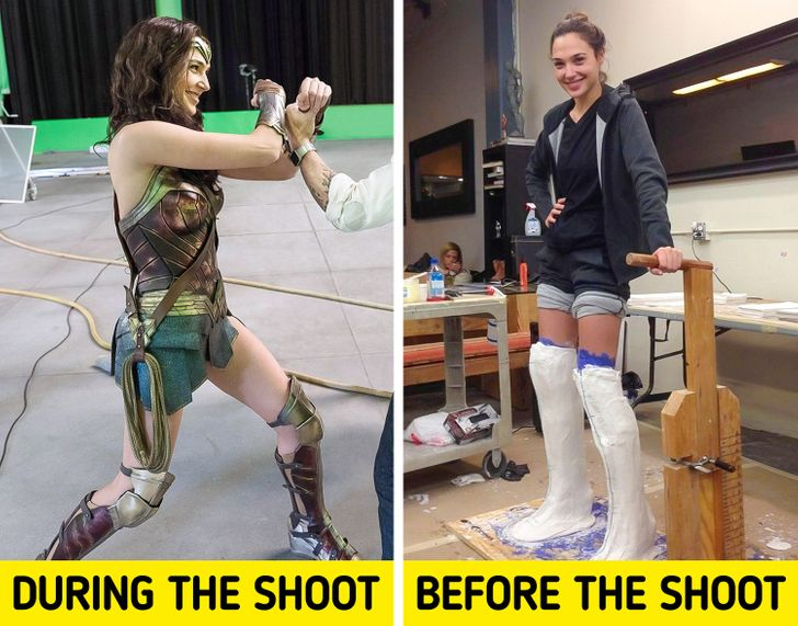 10 Photos That Show What Really Happens Behind the Scenes of Famous Productions
