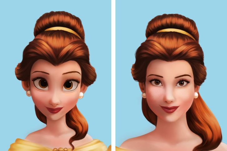 What 8 Disney Princesses Would Look Like With More Realistic Features