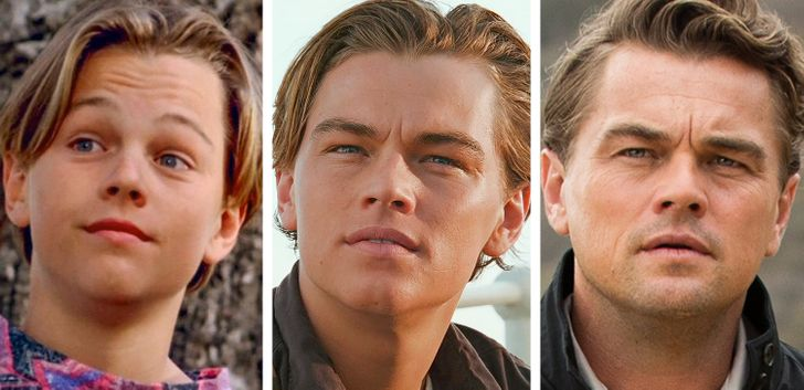 What 8 Hollywood Actors Looked Like in Their Screen Debut, at the Peak of Their Career