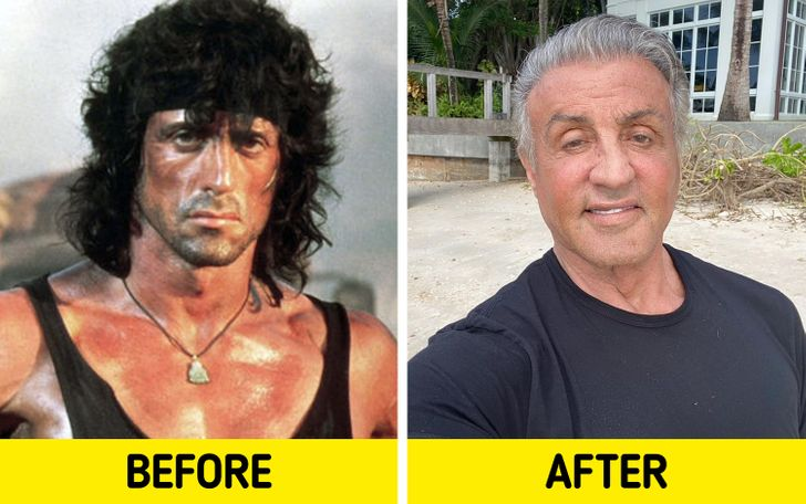 What 8 Actors From Action Movies That Made Us All Sigh Look Like Today