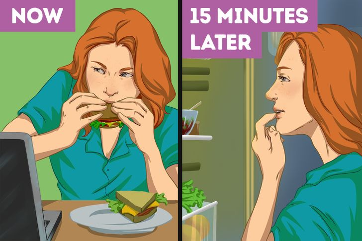 Why You Should Put Your Laptop Aside While You Eat