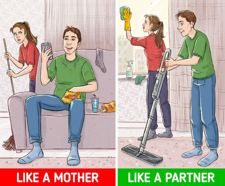 """5 Signs You're Turning Into Your Partner's """"Mom,"""" and How to Stop It Before It's Too Late"""