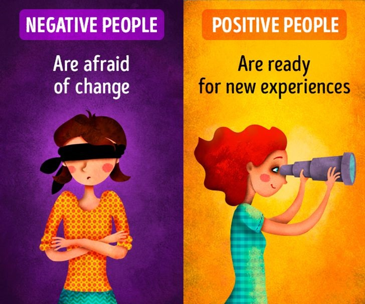 Here's The Real Difference Between A Negative And A Positive Attitude To Life