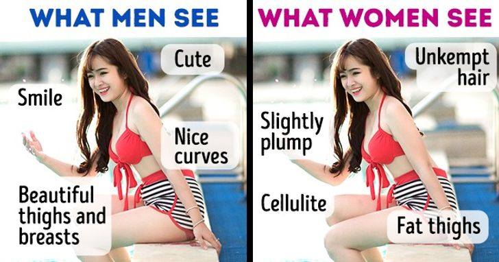 5 Situations Where Men and Women See the Same Things Differently
