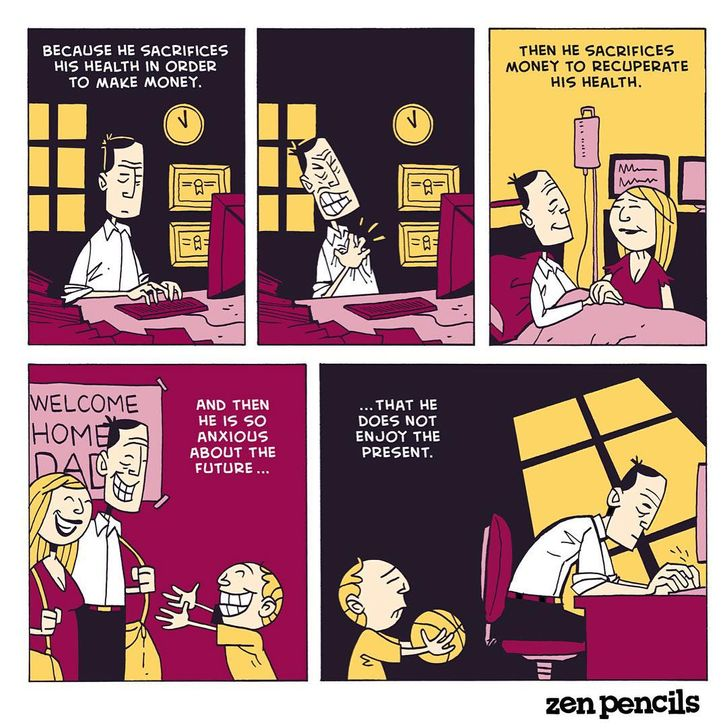 8 Comics to Help You Take a Look at Life From a Zen Perspective