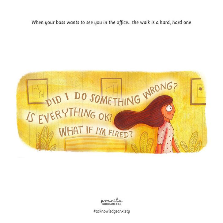 8 Illustrations That All People With Anxiety Will Understand